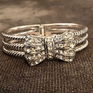Jewelry - Rhinestone Bow Bracelet